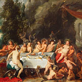 The Feast of the Gods. The Wedding of Thetis and Peleus